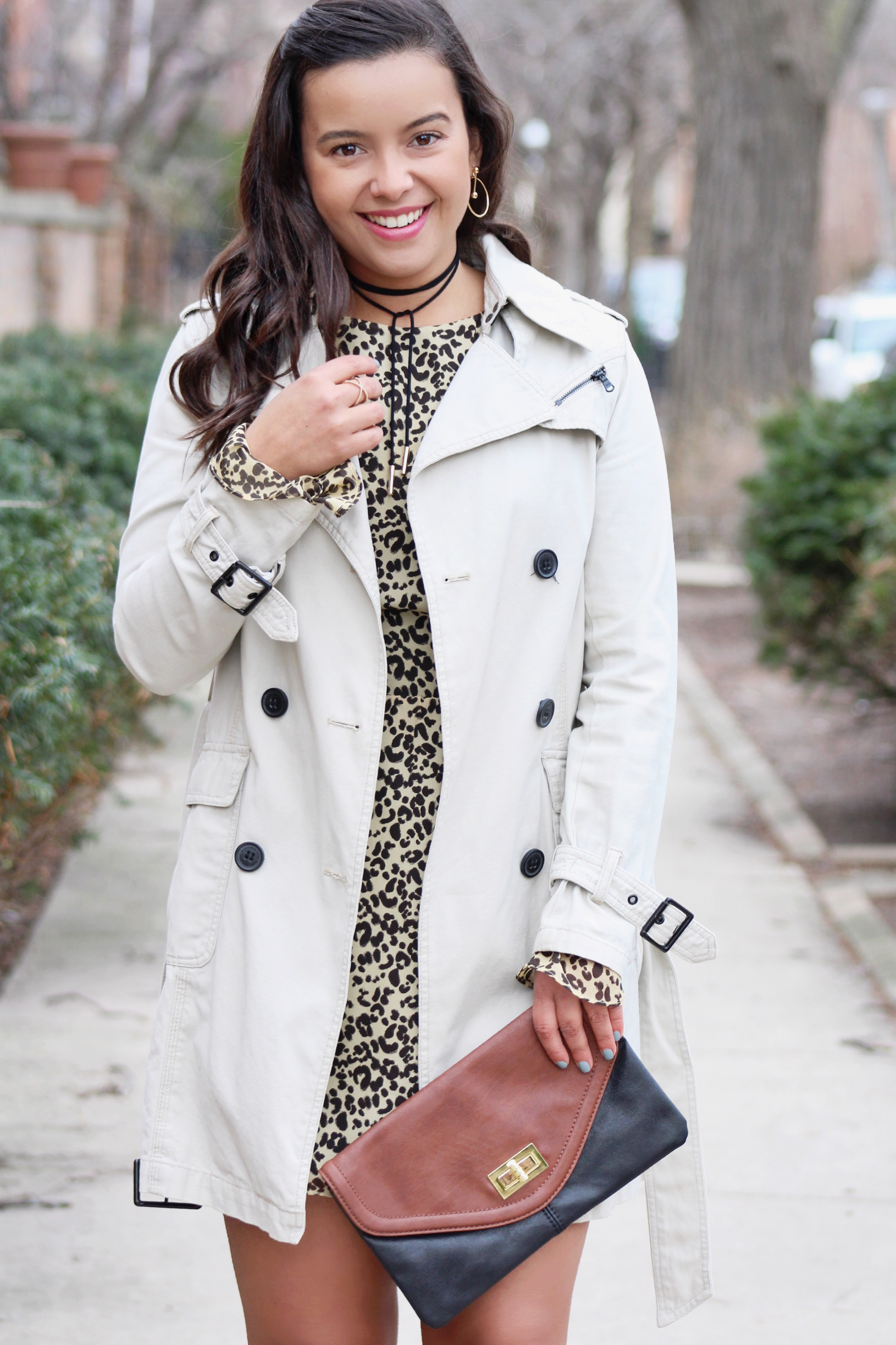 STYLING A LEOPARD PRINTED DRESS, STYLING A LEOPARD PRINTED DRESS – PART 2