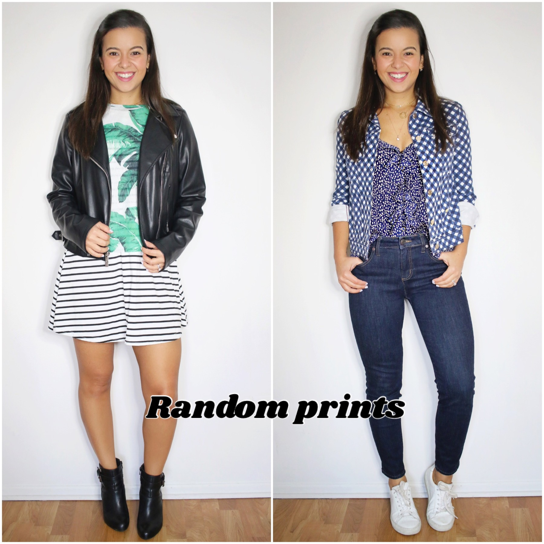 Print mixing - Easiest ways to do it - 10 looks!, Print mixing – Easiest ways to do it – 10 looks!