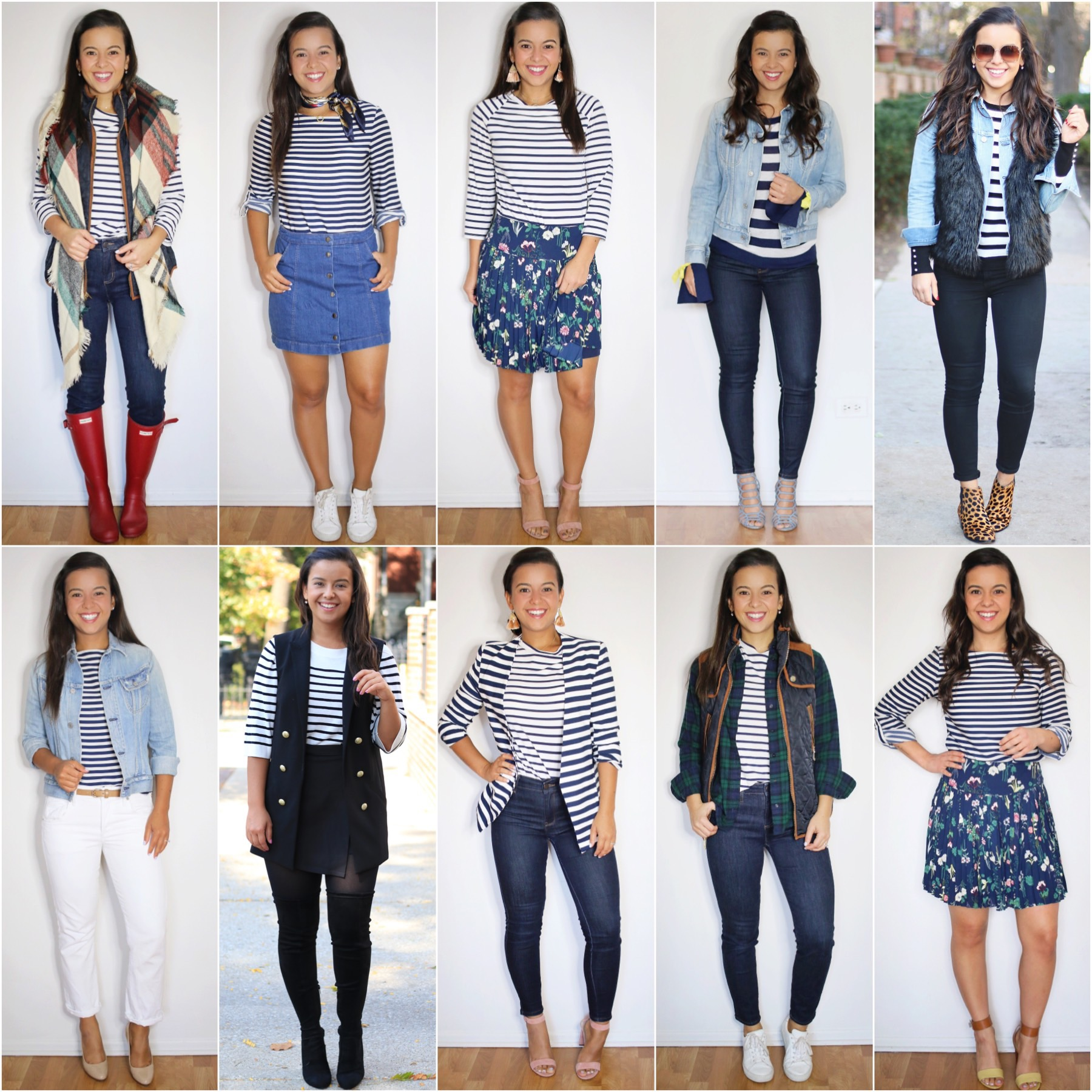 ALL ABOUT STRIPES - 100 outfits included, ALL ABOUT STRIPES – 100 outfits included
