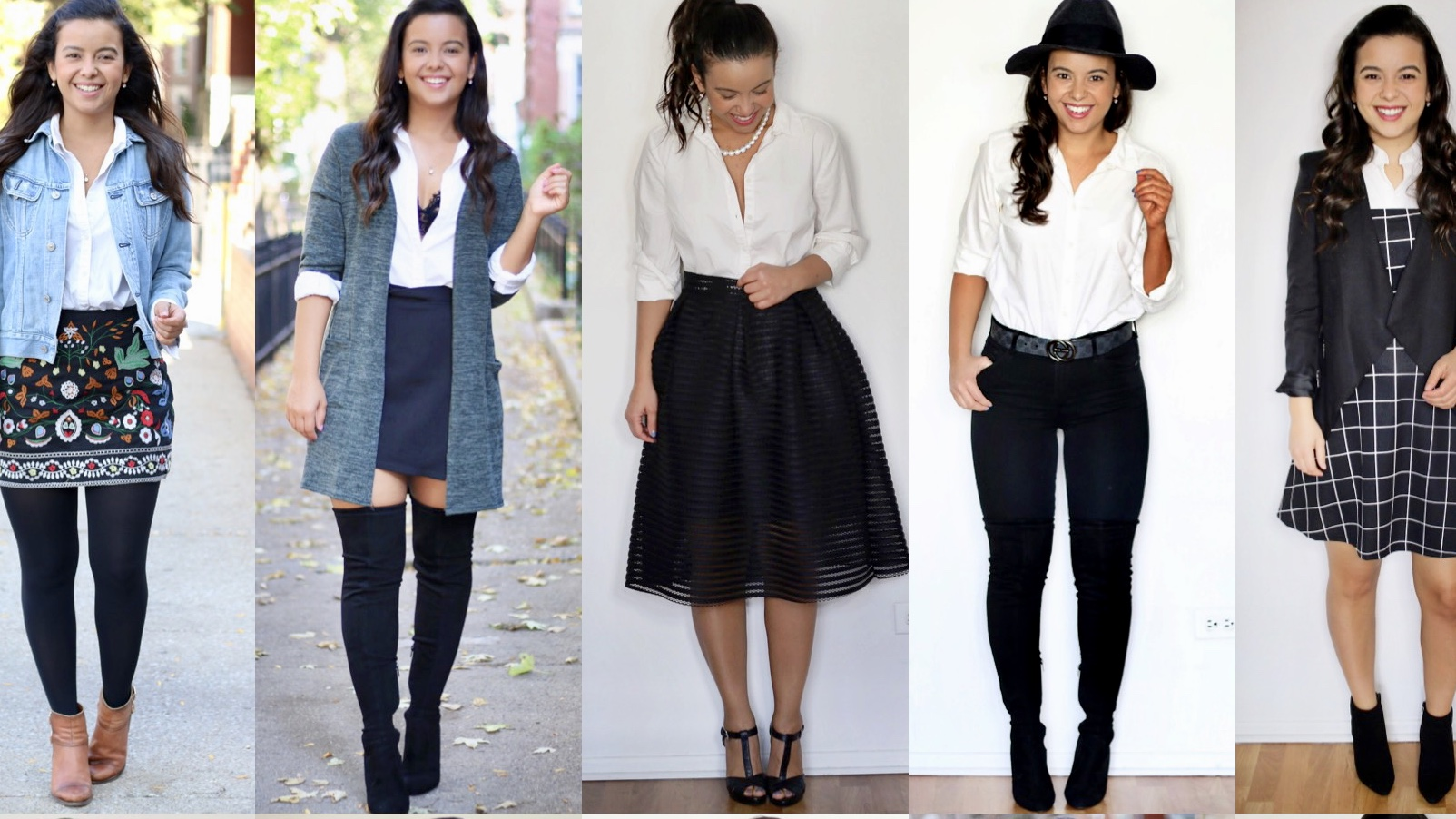 8 things you can do with a white button down shirt – 17 looks!