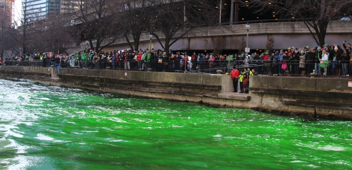ST PATRICK'S DAY IN CHICAGO WITH COUNTRY FINANCIAL