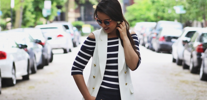 CHIC NAUTICAL SUMMER LOOK