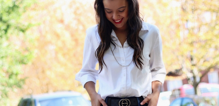 Styling a WHITE button down SHIRT – Part 1