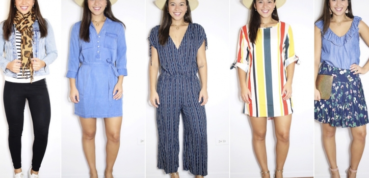 Packing for my Florida trip – 10 looks. Part I