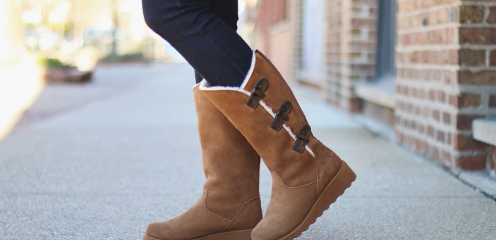 COZY for WINTER thanks to Bearpaw and 6pm.com