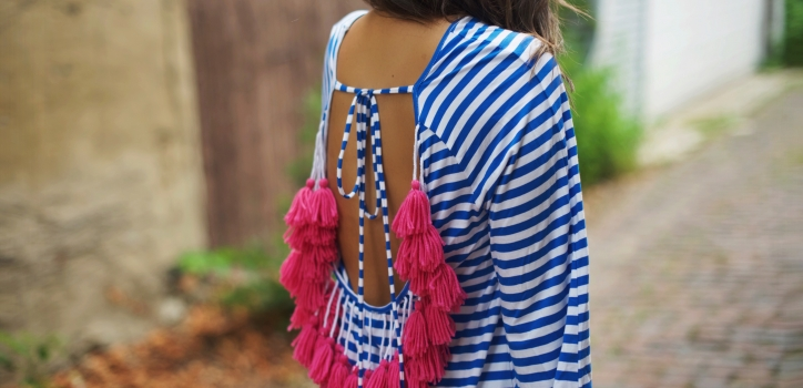 STRIPES AND TASSELS