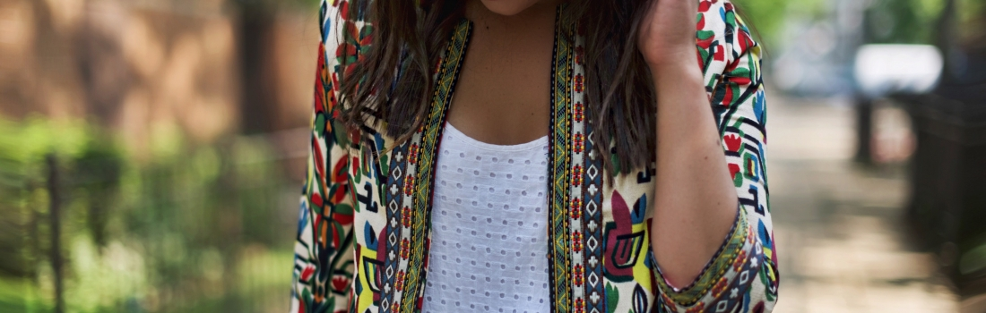 FAVORITE PRINTED JACKET