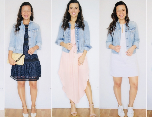 38 ways you can style your denim jacket THIS Spring
