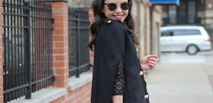 STYLING A BLACK CAPE – PART I