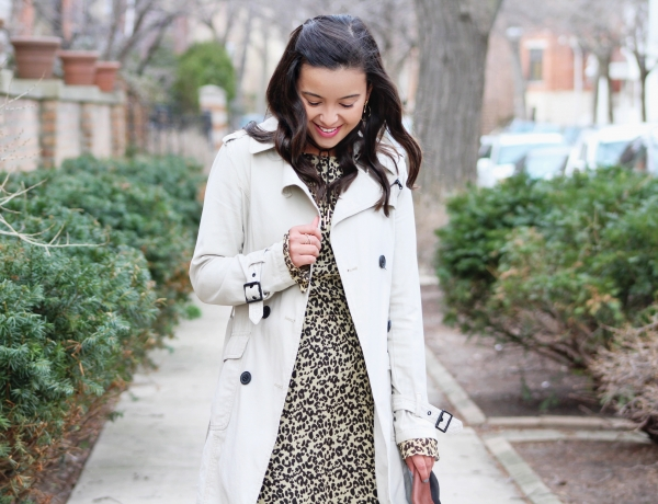 STYLING A LEOPARD PRINTED DRESS – PART 2