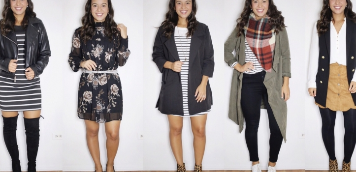 5 pieces, 10 easy-to-recreate Fall looks