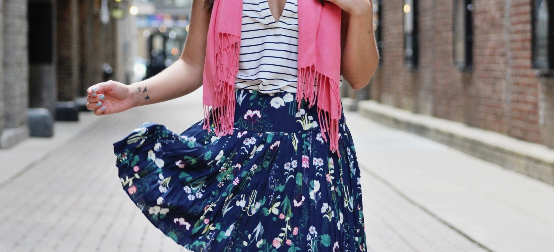 STYLING A FLORAL SKIRT – PART 1