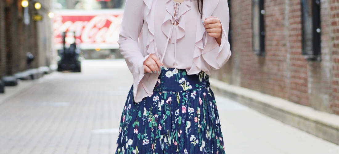 STYLING A FLORAL SKIRT – PART 2