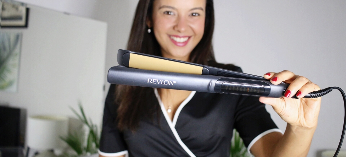 The way to smooth, straight hair with Revlon Hair Tools
